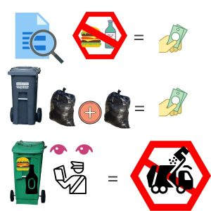 Bylaws and fines for improper waste disposal