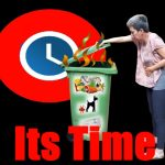Its time to clean dirty smelling bin