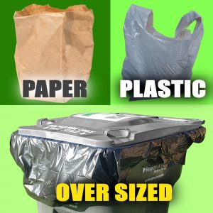 PAPER PLASTIC AND OVER SIZED BAGS