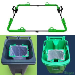 Clean A Green Garbage Bin
