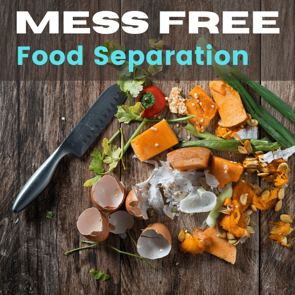 Food Waste Management- Hassle Free Home Separation System