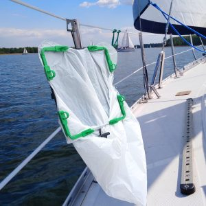 bagez pontoon boat trash bag holder accessories