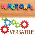 functional & versatile