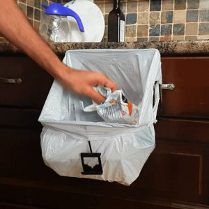 kitchen-cabinet-counter-white-bag-wrapper