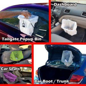 Diy trash can holder