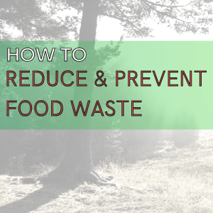Reduce & Prevent Food Waste A How To Guide