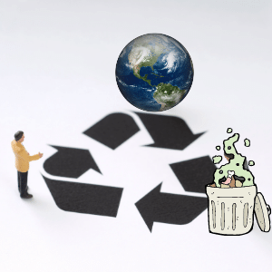 How does recycling food plastic waste help business & the Environment?