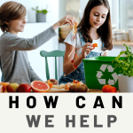 how can we help save food waste from landfills