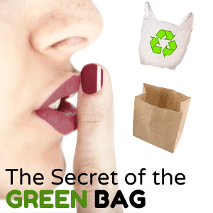 Paper plastic reusable bags which is greener?