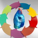 trash bag garbage life cycle